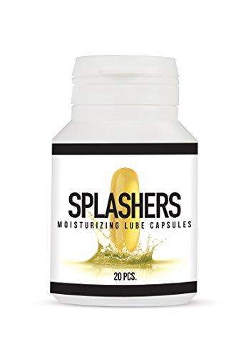 Pharmquests - Splashers - Gleitmittelkapsel 20 pcs, 1 Stück