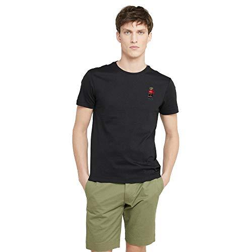Polo Ralph Lauren T-Shirt Polo Bear da Uomo (XL, Polo Black)