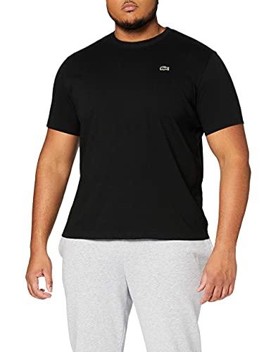 Lacoste TH7618 T-Shirt, Black, M Homme