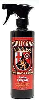 Wolfgang Concours Series WG-9800 Fuzion Spray Wax, 16 fl. oz.