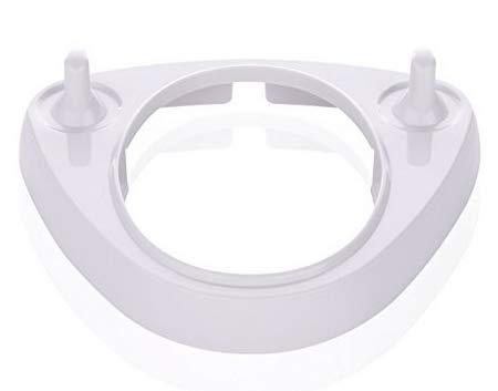 Soporte triangular para cabezales de cepillos de dientes eléctricos