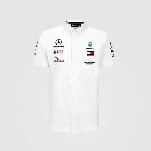 Formel 1 Herren 2020 Team Shirt Scuderia Ferrari, Rot, Größe XL, Herren, Weiß, Small