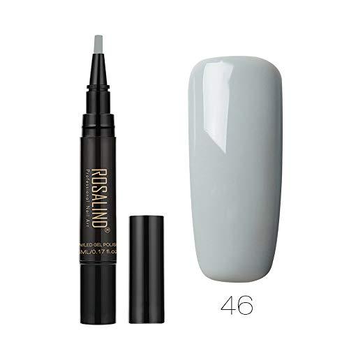 Chiodo Smalto Penna,zolimx Gel Di Colore Smalto Nail Art Smalto Unghie Gel Smalto UV LED Polacco Smalto Penna