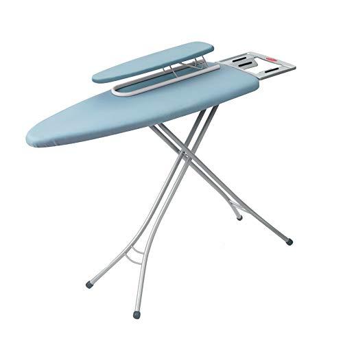 XiuHUa Strijkplank, strijkijzer mouwbordset huishoudelijke opklapbare strijkplank strijkplank strijkplank kan worden verhoogd en verlaagd strijktafel multifunctionele warme kleding hanger, blauw strijkplank