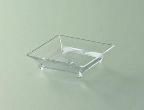 Verrines plastiques carrées x 50