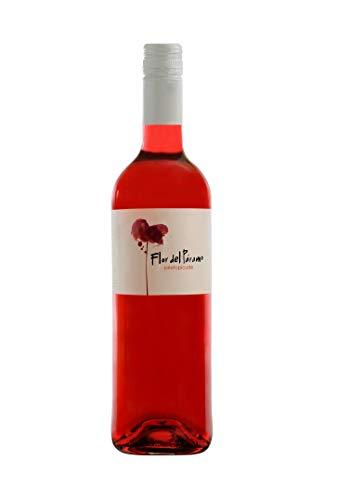 Vino Rosado - Leyenda del Páramo - Flor Del Páramo - Vino Premiado - Caja de 1 botella de 75 cl. - Envio en caja protectora de alta resistencia para un transporte 100% seguro