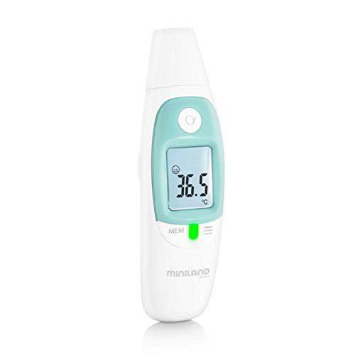 MINILAND - Termómetro de contacto con medición de temperatura de líquidos y objetos.