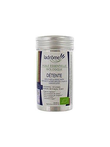 Ladrôme - Mélange d' huile Essentielle bio - Mélange détente - 10 ml