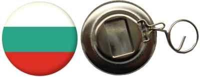 Flaschenöffner Flagge Fahne Bulgarien - 58mm