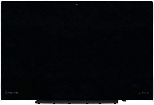 For Lenovo 13.3' WQHD LCD Screen Display Touch Digitizer Bezel Assembly 00NY424 00HN833 00HN842 00HN829 Thinkpad X1 Carbon 2nd Gen 2560x1440