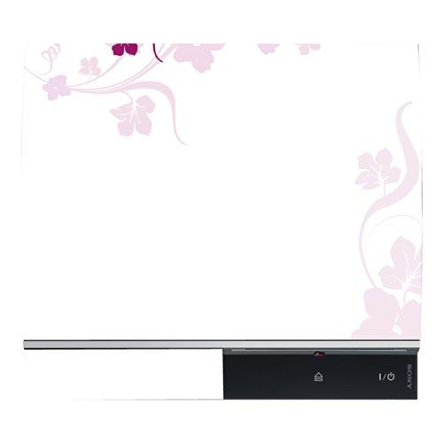 DISAGU Design Skin per Sony PS3sdraiato + Controller–Motivo Fiore Rosa Viticcio