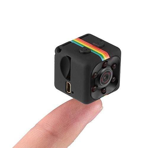 TLMYDD 1080P Mini Niñera Webcam Cámara HD Cámara Espía Deportes con Visión...