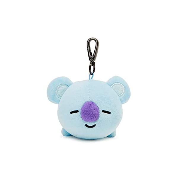 BT21 Official Merchandise by Line Friends – Character Plush Keychain Handbag Accessory for Women, Parent