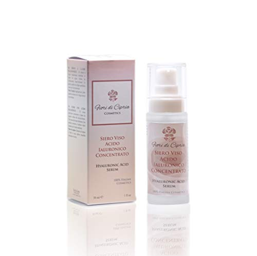 Hyaluronic Acid Serum - Neutralizes And Repairs The Visible Signs Of Ageing. Super-Moisturising. Create The Conditions For The Self-Repair Processes - Made In Italy - 30 Ml