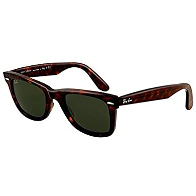 af95d3ab9fbe Ray-Ban Original Wayfarer RB 2140 Sunglasses Tortoise   Crystal Green (902)  50mm   HDO Cleaning Carekit BundleRay-Ban Original Wayfarer RB 2140  Sunglasses ...