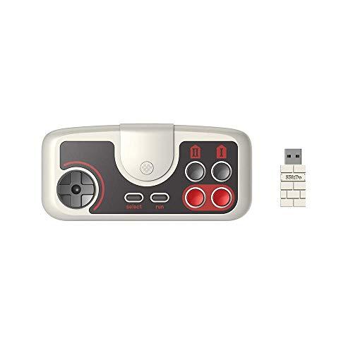 XYXZ Gamepad Controller Joysticks Gamepad Kunststoffspiel Joystick Controller Pce Core 2.4G Drahtlose Pc-Engine Mini Coregrafx Mini Turbografx-16 Switch Host Android-Spiel Griff Mobile Tv-Bo