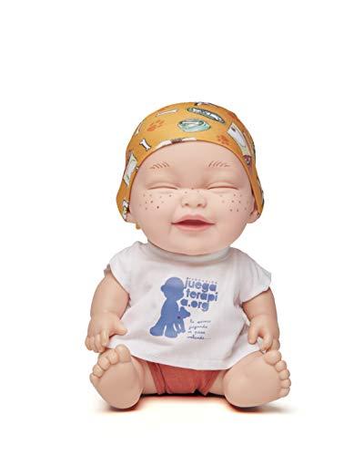 Juegaterapia Muñeco Baby Pelón, Diseñado por Teresa, Jugu