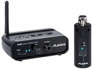Alesis MicLink Wireless - Sistema inalámbrico para micrófono de conectividadhasta 18 mcon transmisor y receptor