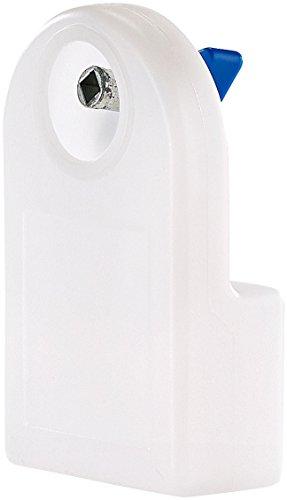 AGT Heizungentlüfter: Manueller Heizkörper-Entlüfter mit integriertem Wasserbehälter, 80 ml (Heizkörperentlüfter manuell)