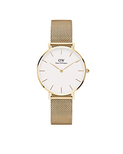 Reloj Daniel Wellington Petite Evergold 32 White DW00100348