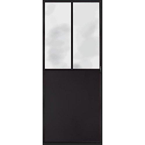 Trompe l'oeil porte Adhésif 141063 Décoration Murale, Polyvinyle, Gris, 83 x 0,1 x 204 cm