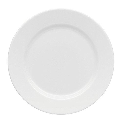 Arzberg Cucina Teller, Flach, Essteller, Speiseteller, Porzellanteller, Basic White, Porzellan, 28 cm, 42100-590003-10868