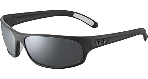 bollé BS027002 Anaconda Sunglasses, Black Matte - Volt+ Gun Cat 4