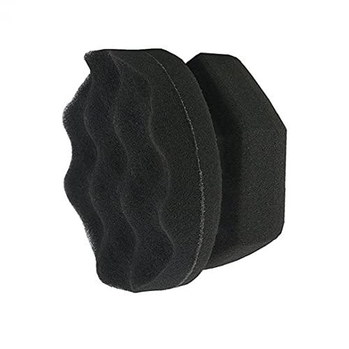 Neumático Encerar Esponja Durabletire Herramientas Vestir Suministros De Limpieza De Coches Reutilizable Diseño De La Onda del Neumático del Coche Esponja De La Limpieza 4pcs 8cm