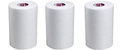 """3M Medipore H Soft Cloth Surgical Tape - 4"""" wide by 10 yards (3 Rolls)"""
