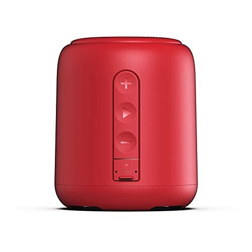 Bdesign Mini Altavoz Bluetooth, al Aire Libre, portátil, Impermeable, Altavoces inalámbricos, Bluetooth 5.0, Estéreo Fuerte, 1500 Minutos de Juego para el hogar y la Fiesta (Color : Chinese Red)