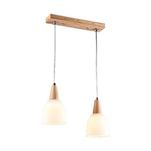 Holz Kronleuchter Zwei Restaurants Lichter, Nordic Italienischer Kronleuchter Bar Lichter