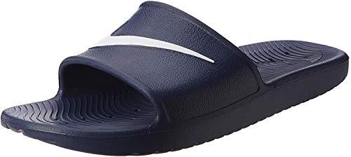 Nike Herren Kawa Shower Dusch-& Badeschuhe, Blau (Bleu Nuit Marine/blanc), 46 EU