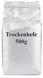 Levadura Seca - 500 gramos de levadura instantánea en polvo - Levadura seca activa - Para una cocción de calidad profesional