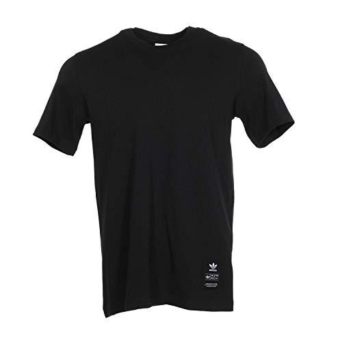 adidas Originals Trefoil Evolution - Camiseta para hombre -  Negro -  Medium