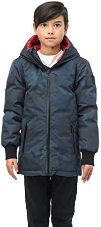 Nobis Little Li Reversible Puffer Jacket - Kid's, Navy Camo, Large, LIL LIL LI-3L NAVY CAMO-L