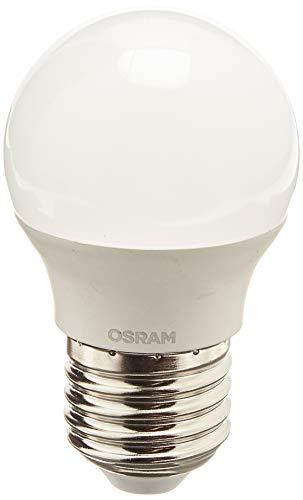 Osram LED Star Classic P Lampe, in Tropfenform mit E27-Sockel, nicht dimmbar, 5W= 40 Watt, Matt, Warmweiß - 2700 Kelvin, 1er-Pack