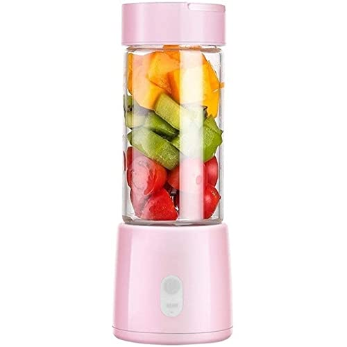 Gwuqbs Portable Mixer Personal Mini Mixer Electric Juicer Ice Sand Mixer Home Highpower Small Juicer, Portable Electric Mini Fruit and Vegetable Juicer