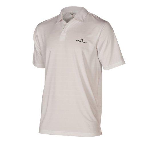 Stuburt - Golf-T-Shirts für Herren in weiß, Größe S