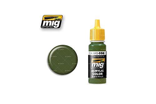 Ammo MIG-0056 zielone farby akrylowe khaki (17 ml), wielokolorowe