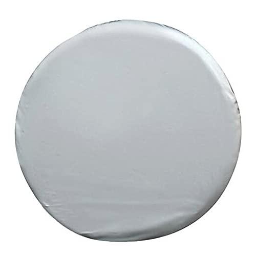 ZZMWLES 14'15' 16'17' Pulgada de Cuero de PVC de la Rueda de Recambio de la Rueda de los neumáticos del neumático para el automóvil (Color : 14 Inch)