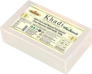 Khadi byPureNaturals Transparent Ultra Clear Glycerine Pour & Melt Soap Base 500 g
