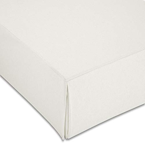 ZETA TEX - Cubre Canapé Color Blanco 150x190cm