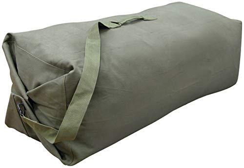 StanSport Unisexs Duffel Bag with Strap OD 50 X 145 in Olive Green 50 X 145 X 145