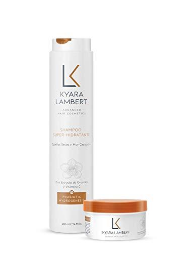 Kyara Lambert - Pack Nutritivo   Tratamiento Completo Súper Hidratante con Extracto de Orquídea Salvaje y Vitamina C   Regenerador Intensivo   Cabello Fuerte y Sano. Antiencrespamiento