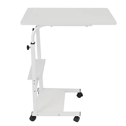 PPLAE Tavolo da Laptop Pieghevole 60 * 40 cm Scrivania in Piedi Regolabile Tavolo per Computer Portatile da Tavolo Pieghevole da Tavolo Pieghevole da Tavolo Compatto Desk Rotativa