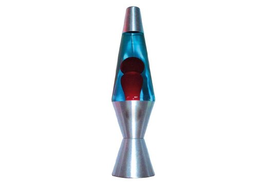 NEW LAVA LAMP ROSSO/BLU 36CM