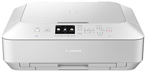 旧モデル Canon インクジェットプリンター複合機 PIXUS MG6730 WH ホワイト