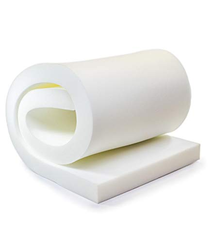 AK TRADING CO. 1' H X 30' W x 72'L Upholstery Foam Cushion CertiPUR-US Certified. (Seat Replacement, Upholstery Sheet, Foam Padding)