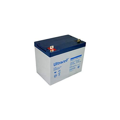 Ultracell DCGA/Deep Cycle Gel UCG 12V 75000mAh Batería de Plomo Recargable