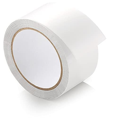 Nastro adesivo per tende ecooe 10M x 5CM Nastro di riparazione per tende trasparente Impermeabile Professionalmente adatto per riparare il padiglione delle tende da sole rivestite in PVC